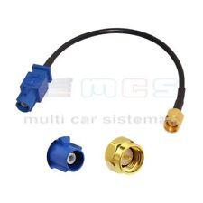 Cable adaptador antena gps SMA FAKRA M Audi BMW Mercedes Volkswagen Skoda Seat