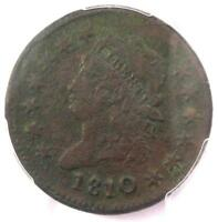 1810/09 Classic Liberty Large Cent Coin 1C - Certified PCGS XF Details (EF)!