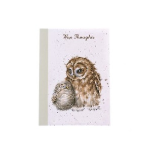 Wrendale Designs A6 Notebook Lined Pages Owls