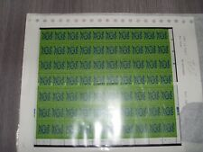 HONG-KONG.Part sheet 70 values of 1985.new value. $1.70c green.U.M.M.see scans.