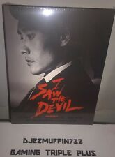 I SAW THE DEVIL BLU-RAY #586 OF 1200 (STEELBOOK & FULL SLIP) OOP (REGION FREE)