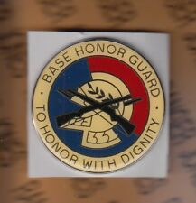 USAF Base Honor Guard To Honor With Dignity pocket badge award 2 inch