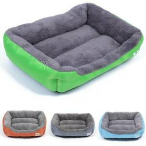 Large Pet Soft Bed Cat Cushion Pet Dog Mat Kennel Dog Blanket Puppy House Warm
