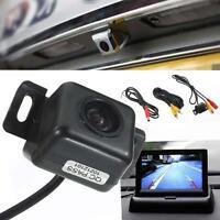 170° Waterproof Night Vision Anti-fog Cars Reverse Back Up Camera Parking Cam ZH
