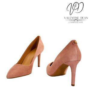 Michael Kors Flex Pump Women's Shoes Sunset Peach Suede Courts Size 5.5 Uk