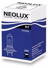 Headlight fog bulb Neolux H7 (499) Dipped Main 24v 70w Clear Bulb [N499A]
