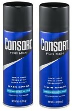 Consort for Men Hair Spray Unscented Extra Hold 2 Bottle Pack