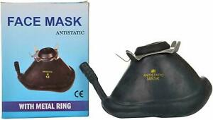 Anesthesia Rubber Face Mask Big Size Black Color Quality Product