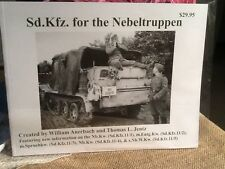 Sd.Kfz. for the Nebeltruppen by William Auerbach & Tom Jentz-BUY AMERICAN*SALE*