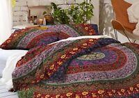 Indian Mandala Duvet Doona Cover Ethnic Comforter Bedding Set Twin Quilt Blanket
