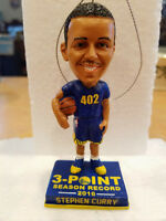2016 Stephen Curry Holiday Ornament bobblehead 3 Pt record 402 shipping next day