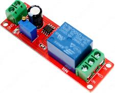 12V NE555 Oscillator DELAY Timer SWITCH Module ADJUSTABLE 0 to 10 Seconds UK