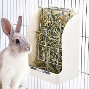 Pet Hay Feeder Grass Food Less Wasted for Rabbit Guinea Pig Chinchilla