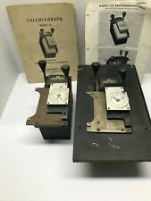 Lot Of 2 Calculagraphs Model 33