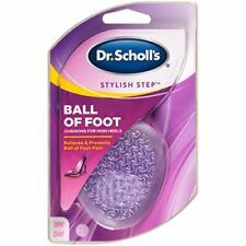5 Pairs Dr Scholl's Stylish Step Ball of Foot Gel Cushions For Womens High Heels