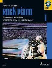 Moser: ROCK PIANO 1 -Grundlagen Rock & Pop KLAVIER KEYBOARD 978-3-7957-5195-1