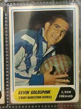 1969 RUGBY LEAGUE CARD #5 - KEVIN GOLDSPINK, CANTERBURY
