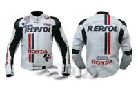 Repsol Honda Motorbike Leather Jacket