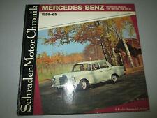 Schrader Motor Chronik Mercedes-Benz Heckflossen 1959-65 - 220, 190/200, 230 300