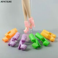 """5pairs/lot Doll Shoes for 11.5"""" Doll Boots High Heel Sandals 1/6 Accessories Toy"""