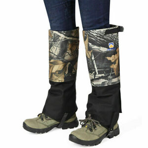 Anti Bite Snake Guard Leg Protection Outdoor Snow Proof Gaiter Cover Camping US