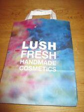⭐ Lush ⭐ Support Présentation Noir Papier Sac Cadeau (cosmétiques présent wrap)