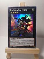 "Super rare Yu-Gi-Oh LOT DE 3 Samouraï Gagaga/"" WSUP-EN027"