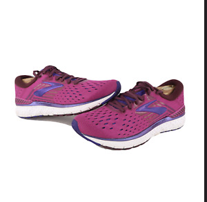 Brooks Transcend 6 Running Jogging Gym Shoes Sneakers Berry Womens Size 10.5