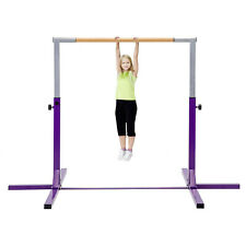 Gymnastic Bar Adjustable Kids Training Horizontal Kip Bars Sport Gym Equipment