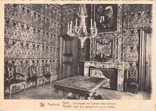 CPA BELGIQUE BELGIUM AVERBODE abbaye salon avec tapisserie en cuir de cordoue