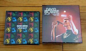 DAVID BOWIE LIVE AT THE KIT KAT KLUB CD + BRILLIANT LIVE ADVENTURES BOX