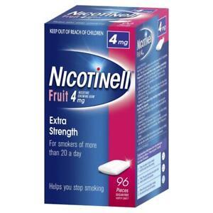 Nicotinell Chewing Gum 4mg Fruit 96 - Nicotine Gum (Quit Smoking)