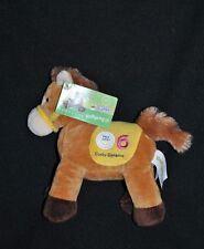 Peluche Doudou Cheval Brun Jaune GIPSY Horseez Musical Prix 6 Derby Dynamo NEUF
