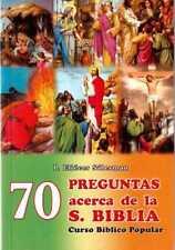 70 PREGUNTAS ACERCA DE LA SANTA BIBLIA - Curso Biblico Popular -Eliecer Salesman