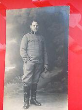 WWI world war one military photo postcard soldier portrait K. u K.