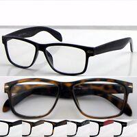 Wayfarer Reading Glasses & Super Classic Fashion Style & Large Frame Designed