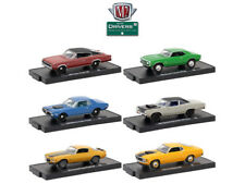 DRIVERS 6 CARS SET RELEASE 47 IN BLISTER PACKS 1/64 CARS BY M2 MACHINES 11228-47