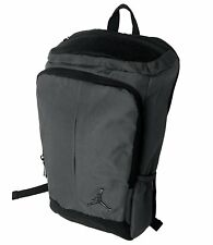 Nike AIR JORDAN 'Unconscious' Grey/Black Backpack, with Laptop Compartment, New