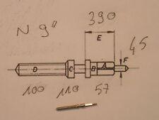 "Zenith winding stem 9""' cal. N  NVSI - tige de remontoir / Aufzugswelle DCN 100"