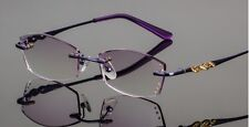 Womens Rimless Reading Glasses mens Tinted shade Color Readers +1.00~+3.00 Str