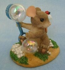 Fitz & Floyd Charming Tails A Bubbly Personality Mouse Figurine