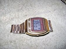 Vintage 1977 SEIKO AO-39-5019 Watch.   Free Casio Watch Included!!