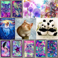 5D Diamond Embroidery Painting DIY Animal Art Stitch Craft Kit Cross Home Decor