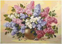 Cross Stitch Patterns/ Needlecrafts Counted Cross Stitch Designs/ Flowers 62