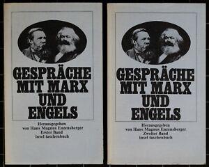 Gespräche mit Marx und Engels. Hrsg. von H. M. Enzensberger. It 19/20.