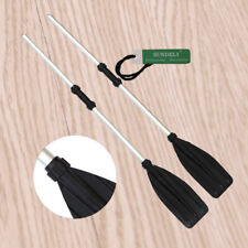 2pcs Aluminum Detachable Afloat Kayak Oars Boat Rafting Canoe Paddle Tool