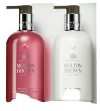 MOLTON BROWN FIERY PINK PEPPER FINE LIQUID HAND WASH +BODY LOTION 300ml GIFT SET