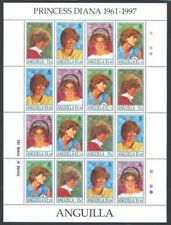 Anguilla 1998 Diana sheet of 16 stamps (4  set) I201804