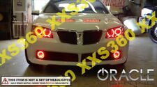 ORACLE Head/Foglight HALO RING KIT for Pontiac GTO 04-06 RED LED Angel Eyes