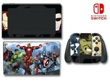 Avengers 2 Hulk Iron Man Captain America Thor Decal Skin for Nintendo Switch